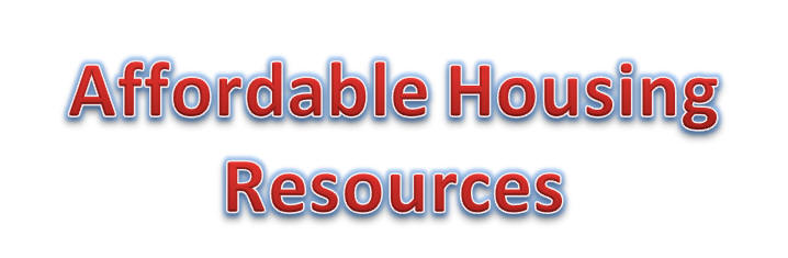 Affordable Housing Resources